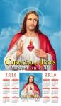 Folhinha do Sagrado Coração de Jesus - 2016