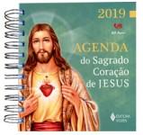 Agenda do Sagrado Coração de Jesus 2019 - com imagem